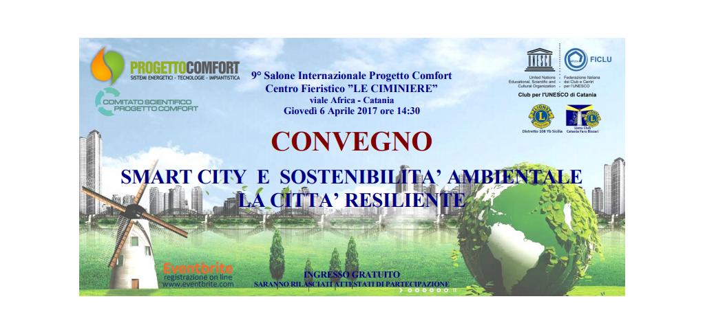 Convegno SMART CITY e SOSTENIBILITA' AMBIENTALE
