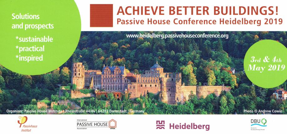 ACHIEVE BETTER BUILDINGS!                        03 - 04 Maggio 2019